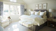 Texas bungalow master bedroom // Collins Interiors