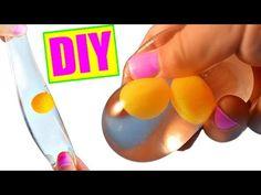 DIY Egg Stress Ball! Squishy Stretchy Egg Splat Ball! - YouTube