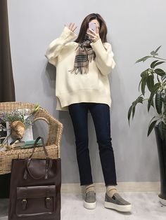 Short Girl Fashion, Korean Girl Fashion, Korean Fashion Trends, Ulzzang Fashion, Korea Fashion, Kpop Fashion, Cute Fashion, Asian Fashion, Daily Fashion