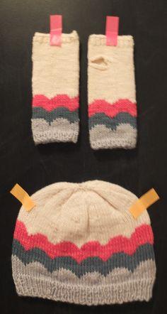 Hat & wrist warmers