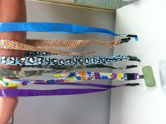 Duck Tape lanyards