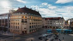 Hotel opening March 2019: Amerikalinjen | Oslo, Norway - the landmark Norwegian American Line building, from 1919, was once was the starting point of hopeful emigrants boarding passenger ships to America.