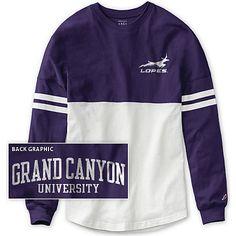 Grand Canyon University Women's Color Block RaRa Long Sleeve T-Shirt | Grand Canyon University