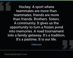 Road tourneys do turn into family getaways! Loving hockey!