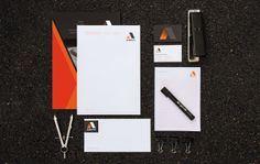 ASPIC Infrastructure Graphic Design for Road Works & Construction industry | Studio Alto #logo #branding #stationery #corporate #letterhead #business #card #comps