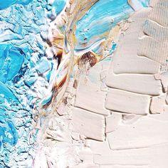 Almost finished💙 new OCEAN 🌊 collection. Modern Art, Contemporary Art, Mixed Media Art, Pop Art, Abstract Art, My Arts, Ocean, Wall Art, Deco