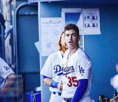 "cody bellinger fanpage on Instagram: ""happiest of birthdays to my favorite person on this planet, more birthday posts to come in the morning💫 @cody_bellinger"" Favorite Person, My Favorite Things, Cody Bellinger, Birthday Posts, Dodger Blue, Cute Posts, Man Candy, Dodgers, Lush"