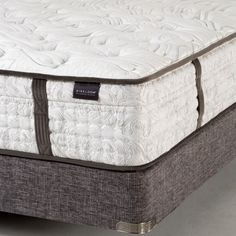 This handcrafted Aireloom Westford Streamline Luxury Firm Innerspring Sleep System delivers a glorious sleeping experience. The benefits that you will receive from this enchanting sleep system include remarkable temperature regulation, impressive motion isolation, and sensational pressure relief that will heal, soothe, rejuvenate, & restore your body night after night. #sleephappens #mattresswarehouse #aireloom