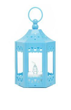 Mini lanterne bleue à LED