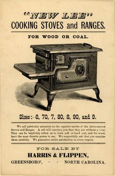 cook stoves 1870 | New Lee Cooking Stoves and Range's cooking stoves and ranges ...