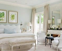 Love the softness, all the light and airiness......BHG   via the enchanted room