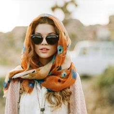 Adding a scarf is one of the easiest way to make an outfit chic! This tutorial shows over 50 creative ways to wear a scarf.