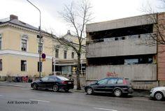 Pori theater extension building.