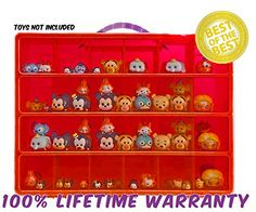[Harley Quinn costumes] Tsum Tsum Mini Toys Carrying Case - Stores Dozens Of Tsum Tsum Mini Figure And Toys - Durable Toy Storage Organizers By Life Made Better - RED ** You can get more details by clicking on the image. (This is an affiliate link) #HarleyQuinncostumes