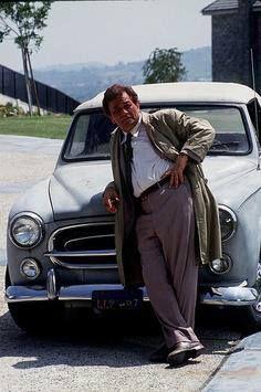 Columbo & his Peugot,  a 1959 Peugeot 403 convertible 562665_487935894625692_1393878830_n.jpg (236×355)