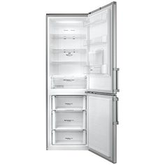 Buy LG GBF59PZKZB Freestanding Fridge Freezer, A++ Energy rating, 60cm Wide, Premium Steel Online at johnlewis.com