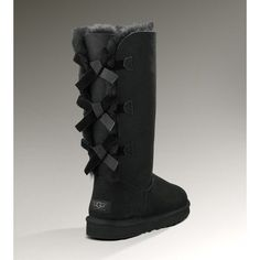 http://cc.bingj.com/cache.aspx?q=site%3auggclan.com&d=4984448151594668&mkt=en-US&setlang=en-US&w=u5eNiMJDziHaqlsruNwoJ-Fit9V0W5pu , UGG W Bailey Bow Tall Women's Black Boots ($250) found on Polyvore #uggs #boots