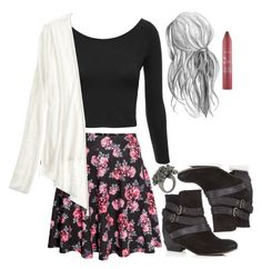 """""""Allison Inspired Spring School Outfit"""" by veterization ❤ liked on Polyvore"""