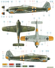 Fw 190A-5 Color Profile and Paint Guide Added