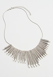 engraved pillar statement necklace - maurices.com
