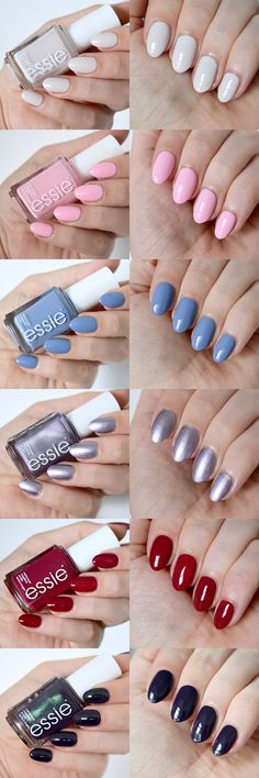 Essie Fall 2017 collection - nineties inspired!
