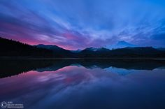 Photograph Baker Lake Sunset by Joel Brady-Power on 500px