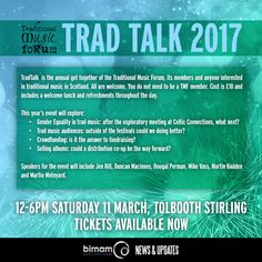 Martin will be taking part in the Traditional Music Forum's annual TradTalk event. For more info, and to book tickets, head to: http://us4.campaign-archive2.com/?u=746aa7b23f2326fb1f60f592a&id=85d61005ba&e=a7441eff40