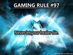 YES DONT LET ME DIE (i am usually the healer or medic or other such person)