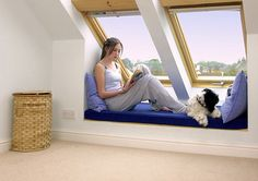 Room in my roof - attic and loft conversions in Cambridge and central East Anglia. Call for a loft conversion estimate & free loft assessment. Attic Master Bedroom, Attic Rooms, Attic Spaces, Wooden Terrace, Wooden Pergola, Attic Conversion, Loft Conversions, Self Build Houses, Modern Bungalow House