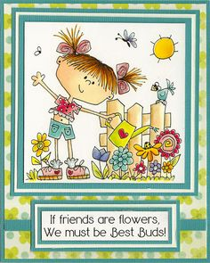 Love the sentiment! Cute image & card, too.