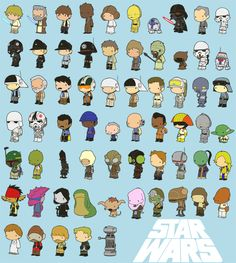 lil star wars kawaii cute characters