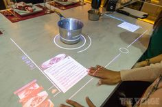 Whirlpool imagines a kitchen of the future with a touchscreen stovetop