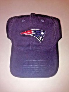 6e1e82a52ff Details about New England Patriots TEAM APPAREL Hat Cap Blue Super Bowl 53  LIII Brady Gronk