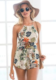 Sexy yet feminine and fun! This versatile   romper can be yours for just $9.93!