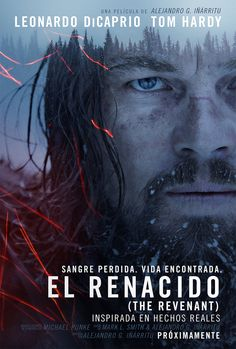 The Revenant on DVD April 2016 starring Leonardo DiCaprio, Tom Hardy, Will Poulter, Lukas Haas. In an expedition of the uncharted American wilderness, legendary explorer Hugh Glass (Leonardo DiCaprio) is brutally attacked by a bear and Leonardo Dicaprio Tom Hardy, Leonardo Dicaprio Movies List, 2015 Movies, Latest Movies, Hd Movies, Movies To Watch, Movies Online, Movie Film, Movies Free