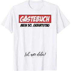 Dieses T-Shirt passt perfekt für den Geburtstag! #Geburtstag #Birthday #Party #Feiern #HappyBirthday #Spruch #Werbung #50er Party, Mens Tops, Women, Gifts For Women, The Fifties, Women's T Shirts, Clothing, Husband Wife, Parties