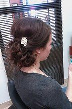 facebook.com/brookehimeshairdesign  Twitter @himeshair insta  @HimesHair  #himeshair #Bridal Hair #Wedding hair  #bridesmaid hair