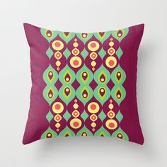 1001 Nights  Throw Pillow by VessDSign - $20.00