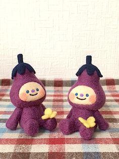 なす. Eggplant children.
