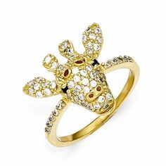 - Metal Material: .925 Sterling Silver - Gold-Plated Painted Enamel Accents - Includes Cheryl M Gift Satchel Stone Type: Cubic Zirconia (CZ) Stone Creation Method:Synthetic Stone Treatment:Synthetic S