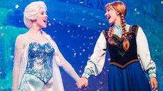Frozen Elsa and Anna Disneyland