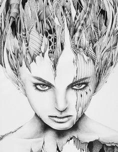 Eve #3 by PEZ Artwork, via Behance