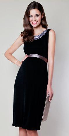 Lana Sequin Maternity Dress (Black) by Tiffany Rose. Tehotenská MódaMóda  Pre Budúce MamičkyTehotenstvoMódaSlávnostné TopánkyVečerné ŠatyFlitre 1ed599e9e36