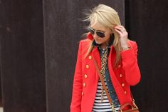 Stripes with this jacket = love