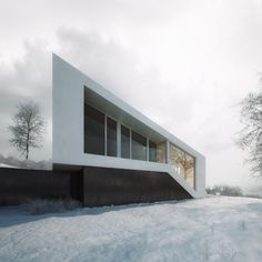 Slanted House visualization by Michal Nowak project by 81.WAW.PL