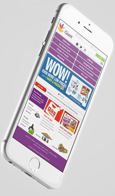 Giant Foods mobile UX Design