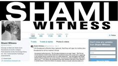 Twitter Backer of ISIS Is a Clean-Cut Executive in India, British Channel Says One of the most prolific cheerleaders for the Islamic State, @shamiwitness, is a marketing executive in Bangalore, India, Britain's Channel 4 News said.