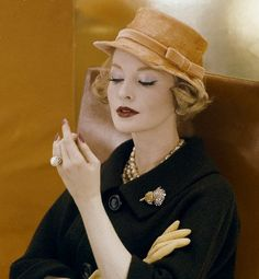 Black and Yellow - Vintage Vogue