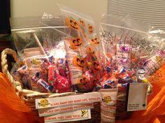 Customer Gifts for Halloween!