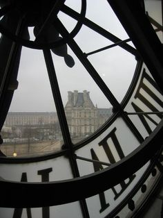 Paris, what more is there to say?  The Louvre from inside Musee de Orsay...